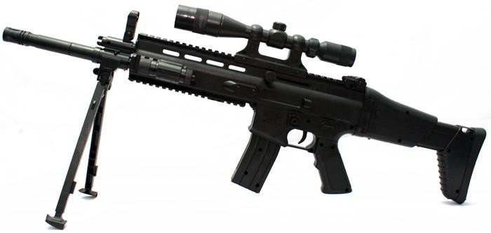 Ружье с лазерным прицелом SM1001B