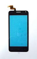 Оригинальный тачскрин / сенсор (сенсорное стекло) для Bravis Alpha (черный цвет, 131*63, SU00868-FPCV2-968)