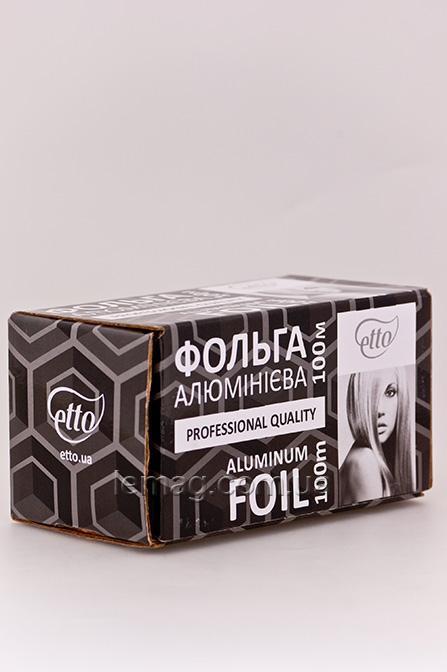 Etto Фольга в коробке с отрезной линейкой, 100 м
