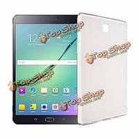 Мягкий полупрозрачный случай TPU задняя крышка для Samsung Galaxy Tab s2 8.0 дюйма