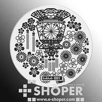 Стемпинг-диск серии hehe, фото 1