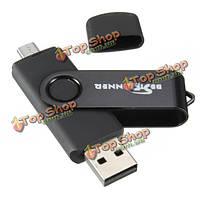 PC 8Гб Bestrunner и otg USB смартфона к флеш-картам micro-USB u диск