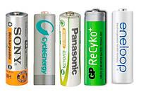 Батарейки, аккумуляторы, источники питания.
