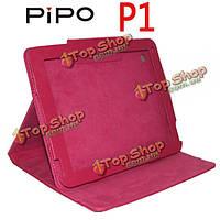 Специализированная Folio PU кожаный чехол раскладной подставкой для pipo Р1
