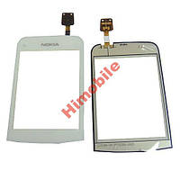 Тачскрин, сенсор Nokia C2-02 / C2-03 / C2-06 / C2-07 / C2-08 белый