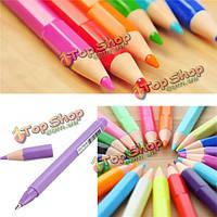 Маркера флуоресцентные жидкого Мел маркер карандаши форма ручки акварели случайных