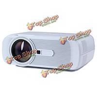 G80 белое Mini-жк-800x480 1000 ANSI люменах LED проектор HDMI USB av VGA для домашнего кинотеатра