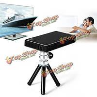 Hdp-100 черный DLP 1080p HD LED портативный проектор 854x480 аудио-видео HDMI USB домашний кинотеатр