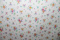 Самоклейка ситец цветной 45 см