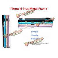 Ultra тонкий гиппокампа пряжка металлическая рамка бампер для iPhone 6 Plus