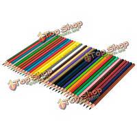 36 цвет нетоксичные карандаши для рисования набор для художника письма эскизов