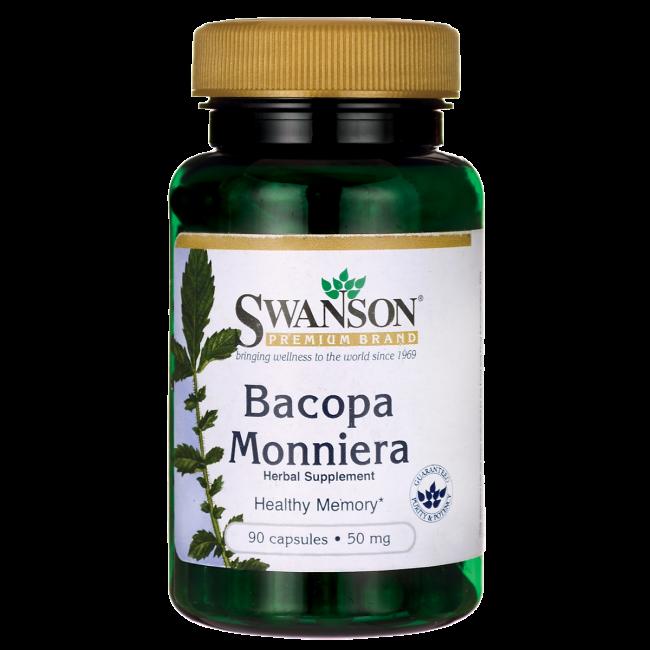 Брахми / Бакопа Монье, 10:1 Экстракт 50 мг 90 капсул