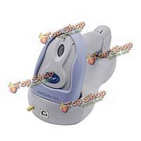 FJ-6800 сканер штрих-кода лазерный беспроводной Pos удобный портативный сканер с базой