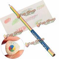 1шт радуги цветной карандаш 4в1  цветной рисунок живопись карандаш перо