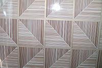 Самоклейка плитка коричневая 45 см