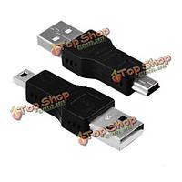 USB Male к мини-б штырем 5-контактный