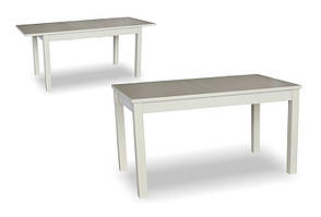 Стол обеденный раскладной  Модерн Fn, (белый, беж), фото 2