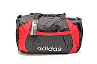 Дорожная сумка Adidas AN-8432 (черный+красный)