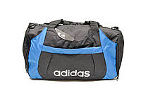 Дорожная сумка Adidas AN-8432 (черный+голубой)