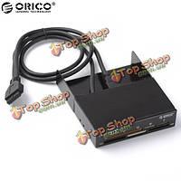 Orico алюминий все-в-1 внутреннее устройство считывания с карт USB3.0 19pin USB3.0 кабель-черный