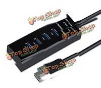 USB 3.0 высокоскоростной адаптер 4 порта концентратора разветвитель