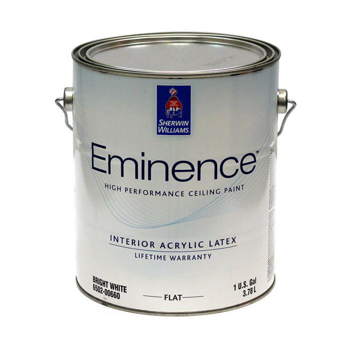 Краска Sherwin-Williams eminence (шервин вильямс эминенс) - 3,78л, для потолка