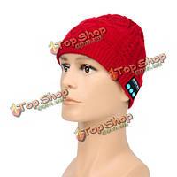 Нот Bluetooth шлем со встроенными стерео динамиками громкой зимой теплой вязаной шапочке