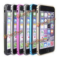 Алюминиевая крышка зеркальный шкаф роскошный Ультра тонкий для Apple iPhone 6 Plus 6 с 5.5 плюс