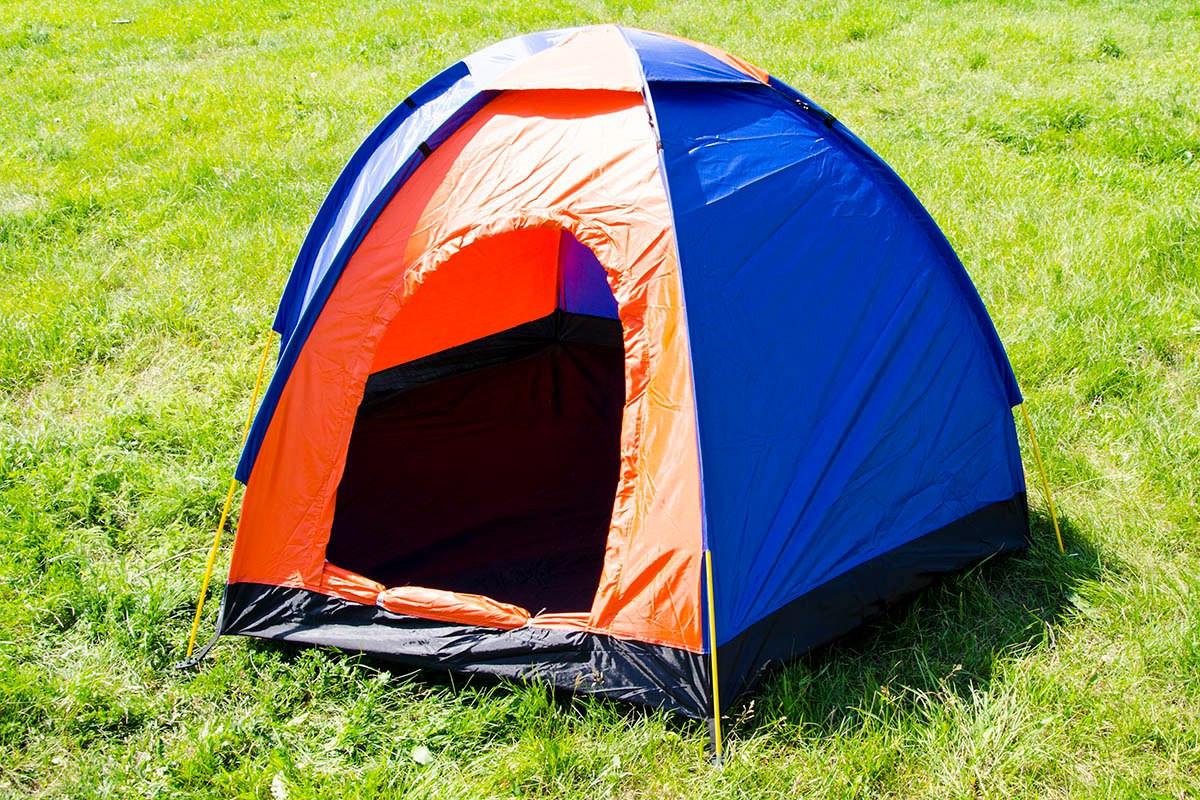 Палатка Foxhunter JY 1516 гексогональная 3-х местная однослойная, фото 1
