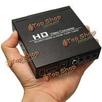 Скарт / HDMI к HDMI 720 / 1080p HD видео конвертер для DVD БВУ NTSC PAL
