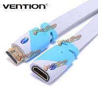 Конвенция VAA-A01 1м 3м от мужчины к женщине удлинительный кабель адаптера позолоченными 4V 3d 1080p HD для ПК