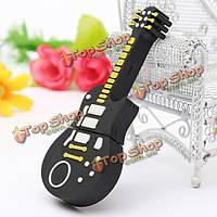 4Гб смазливая черный гитара в стиле флэш-диск USB 2.0 карты памяти U диск