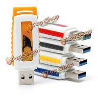 Onchoice 8Гб высокоскоростной USB 3.0 флэш-диск пальца диск флэш-накопитель USB Disk многоцветный