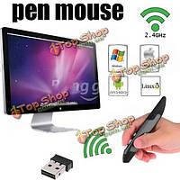 Новое прибытие 2.4 G беспроводной мини Pen Mouse беспроводная мышь