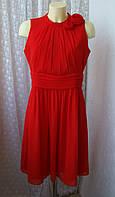 Платье вечернее красное More&More р.48 7008