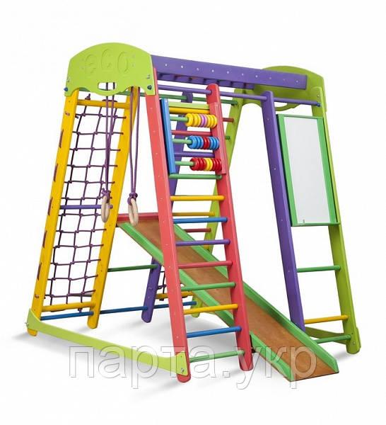 """Детский уголок для дома  """"Бэмби"""" высота 150 см ( мольберт и счеты )"""