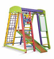 """Детский уголок для дома  """"Бэмби"""" высота 150 см ( мольберт и счеты ), фото 1"""