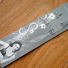 Бретели силиконовые узкие для лифчика