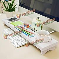 Для настольных ПК клавиатуры стеллаж для хранения шельфа многофункциональный анти-пыли крышка