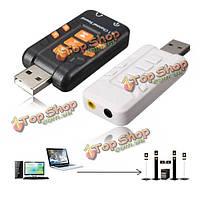 USB 8.1 внешний канал 3D виртуальный аудио усилитель адаптер звуковая карта для ПК