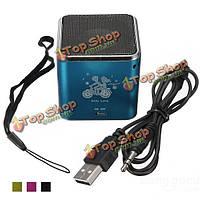 Портативный USB мини ангел FM динамик для ПК mp3 4 микро / SD / TF