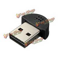 USB-штекер Mini микрофон настольной студии записи речи Ф С MSN скайп