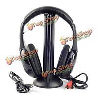 Mh2001 5в1 беспроводном ТВ cd MP3 PC наушника из