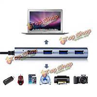 Wavlink высокоскоростной USB-с к USB3.0 4 порта концентратора адаптер для воздуха ПК Apple Mac