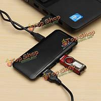 7 портов высокоскоростной 480мbps USB 2.0 концентратор расширение мульти разветвитель для портативных ПК