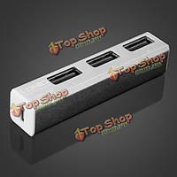 Ldnio Си-h16см алюминиевого сплава высокоскоростной 3-портовый USB 2.0 концентратор
