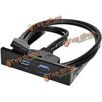 С USB3.0 на передней панели 2 порта концентратора 20 пин дискеты кронштейн кабель