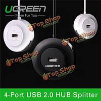 UGreen высокоскоростной 4-портовый USB-концентратор 2.0 480мbps OTG USB-концентратор сплиттер адаптер