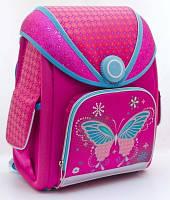 """Рюкзак """"1 вересня"""" H-15 """"Butterfly"""" каркасний 551835"""