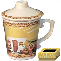 Чашка заварочная 350 мл Наши традиции/Хатынка